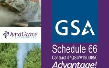 DynaGrace Enterprises Awarded the GSA Schedule 66 – Scientific Equipment and Services