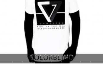 """New York City Fashion Brand LUCHEVIDA to Release, on 11.09.19, Limited Pieces from Its Exclusive T-Shirt Collection, Entitled, """"COLORBLIND"""""""