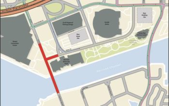 Temporary Road Closures of S Franklin Street/S Harbour Island Boulevard and Water Street (formerly Old Water Street) to begin December 12, 2019 for Road Improvements
