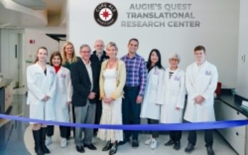 ALS Therapy Development Institute Announces Naming of Augie's Quest Translational Research Center