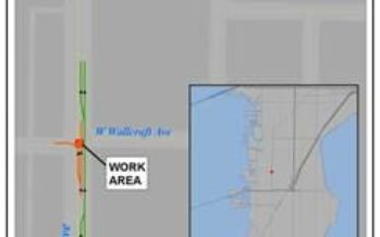 Additional Lane Closures on South Manhattan Avenue for Utility Maintenance Work